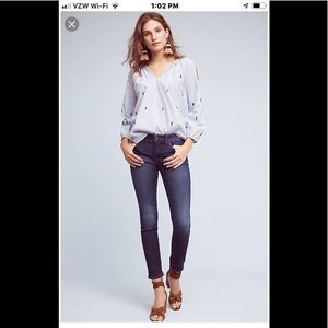 Anthropologie Pilcro&the Letterpress skinny jeans
